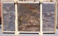 Suministro planchas pulidas 0.8 cm en brecha natural BRECCIA ANTICA E-14641. Detalle imagen fotografías