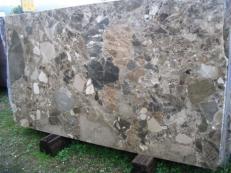 Suministro planchas pulidas 2 cm en brecha natural BRECCIA PARADISO SRC25116. Detalle imagen fotografías