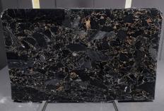 Suministro planchas pulidas 3 cm en mármol natural BRECCIA PORTORO 1064M. Detalle imagen fotografías