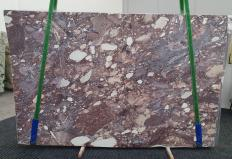 Suministro planchas pulidas 0.8 cm en brecha natural BRECCIA VIOLA 1289. Detalle imagen fotografías