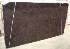 Suministro planchas pulidas 0.8 cm en labradorita natural BROWN ANTIQUE C-16869. Detalle imagen fotografías