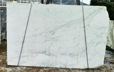 Suministro planchas al corte 0.8 cm en mármol natural CALACATTA ARNI Z0195. Detalle imagen fotografías