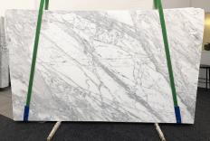Suministro planchas mates 0.8 cm en mármol natural CALACATTA BELGIA 1146. Detalle imagen fotografías