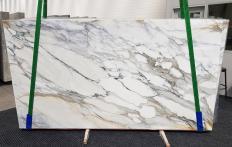 Suministro planchas pulidas 2 cm en mármol natural CALACATTA BORGHINI 1209. Detalle imagen fotografías