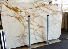Suministro planchas pulidas 2 cm en mármol natural CALACATTA BORGHINI AA S0345. Detalle imagen fotografías