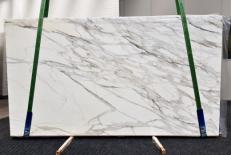 Suministro planchas pulidas 2 cm en mármol natural CALACATTA BORGHINI GL 1095. Detalle imagen fotografías