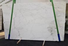 Suministro planchas pulidas 2 cm en mármol natural CALACATTA CALDIA GL 1039. Detalle imagen fotografías