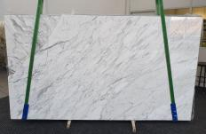 Suministro planchas pulidas 3 cm en mármol natural CALACATTA CARRARA 1295. Detalle imagen fotografías