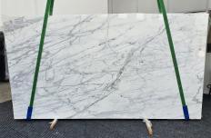 Suministro planchas pulidas 2 cm en mármol natural CALACATTA CARRARA 1358. Detalle imagen fotografías