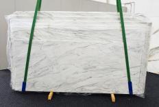 Suministro planchas pulidas 2 cm en mármol natural CALACATTA CARRARA 1360. Detalle imagen fotografías
