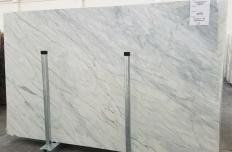 Suministro planchas pulidas 2 cm en mármol natural CALACATTA CREMO 1275. Detalle imagen fotografías