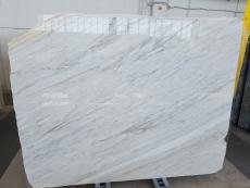 Suministro planchas pulidas 2 cm en mármol natural CALACATTA CREMO AL0072. Detalle imagen fotografías