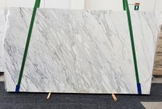 Suministro planchas pulidas 2 cm en mármol natural CALACATTA CREMO 1427. Detalle imagen fotografías