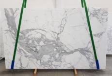 Suministro planchas mates 2 cm en mármol natural CALACATTA EXTRA 1145. Detalle imagen fotografías