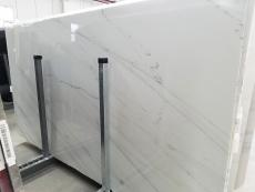 Suministro planchas pulidas 2 cm en mármol natural CALACATTA LINCOLN GOLD VEIN 1670M. Detalle imagen fotografías