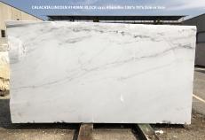 Suministro planchas pulidas 2 cm en mármol natural CALACATTA LINCOLN 1408M. Detalle imagen fotografías