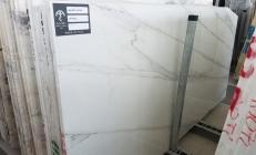 Suministro planchas pulidas 3 cm en mármol natural CALACATTA LINCOLN U0180509. Detalle imagen fotografías