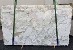 Suministro planchas pulidas 0.8 cm en mármol natural CALACATTA MACCHIA ANTICA 1311. Detalle imagen fotografías