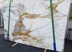 Suministro planchas pulidas 2 cm en mármol natural CALACATTA MACCHIAVECCHIA 1428. Detalle imagen fotografías