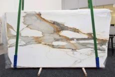 Suministro planchas pulidas 0.79 cm en mármol natural CALACATTA MACCHIAVECCHIA GL 1130. Detalle imagen fotografías