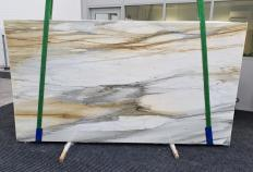 Suministro planchas pulidas 2 cm en mármol natural CALACATTA MAJESTIC 1343. Detalle imagen fotografías