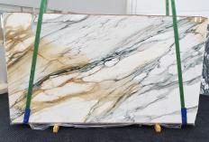 Suministro planchas pulidas 2 cm en mármol natural CALACATTA MAJESTIC 1413. Detalle imagen fotografías