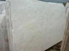 Suministro planchas al corte 0.8 cm en mármol natural CALACATTA MICHELANGELO E-O423. Detalle imagen fotografías