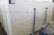 Suministro planchas pulidas 2 cm en mármol natural CALACATTA MICHELANGELO AA T0269. Detalle imagen fotografías