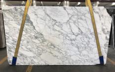 Suministro planchas pulidas 2 cm en mármol natural CALACATTA MONET 1541M. Detalle imagen fotografías
