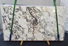 Suministro planchas pulidas 2 cm en mármol natural CALACATTA MONET 1302. Detalle imagen fotografías