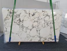 Suministro planchas pulidas 2 cm en mármol natural CALACATTA MONET 1312. Detalle imagen fotografías