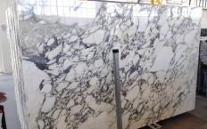 Suministro planchas pulidas 2 cm en mármol natural CALACATTA MONET Z0200. Detalle imagen fotografías