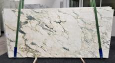 Suministro planchas pulidas 2 cm en mármol natural CALACATTA MONET 1067. Detalle imagen fotografías