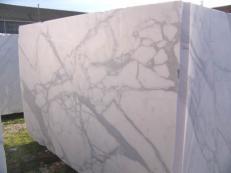 Suministro bloques ásperos 100 cm en mármol natural CALACATTA ORO EXTRA C-PR2003. Detalle imagen fotografías