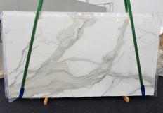 Suministro planchas pulidas 2 cm en mármol natural CALACATTA ORO EXTRA 1366. Detalle imagen fotografías