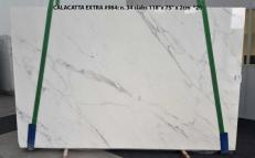 Suministro planchas pulidas 2 cm en mármol natural CALACATTA ORO EXTRA GL 984. Detalle imagen fotografías
