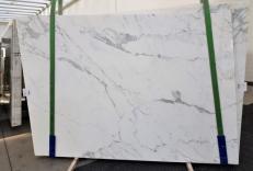 Suministro planchas pulidas 0.8 cm en mármol natural CALACATTA ORO EXTRA GL 1043. Detalle imagen fotografías