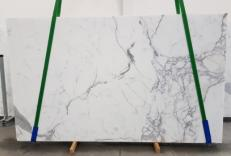 Suministro planchas pulidas 0.8 cm en mármol natural CALACATTA ORO EXTRA 1145. Detalle imagen fotografías