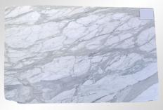 Suministro planchas mates 2 cm en mármol natural CALACATTA ORO M2020088. Detalle imagen fotografías