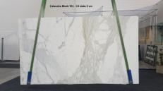 Suministro planchas pulidas 0.8 cm en mármol natural CALACATTA ORO GL 761. Detalle imagen fotografías