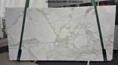 Suministro planchas pulidas 0.8 cm en mármol natural CALACATTA ORO GL 988. Detalle imagen fotografías