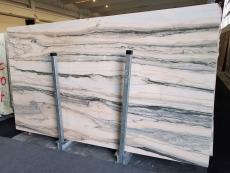 Suministro planchas pulidas 2 cm en mármol natural CALACATTA SAINT TROPEZ A0128. Detalle imagen fotografías