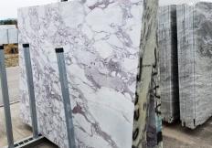 Suministro planchas al corte 2 cm en mármol natural CALACATTA VAGLI ROSATO Z0386. Detalle imagen fotografías