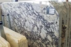 Suministro planchas pulidas 2 cm en mármol natural CALACATTA VAGLI ROSATO AA T0400. Detalle imagen fotografías