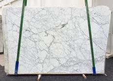 Suministro planchas pulidas 3 cm en mármol natural CALACATTA VAGLI VENA FINA 1201. Detalle imagen fotografías