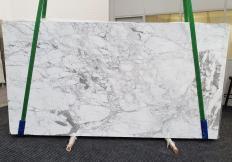 Suministro planchas pulidas 2 cm en mármol natural CALACATTA VAGLI VENA FINA #1374. Detalle imagen fotografías