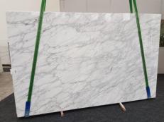 Suministro planchas pulidas 0.8 cm en mármol natural CALACATTA VAGLI VENA FINA GL 1128. Detalle imagen fotografías