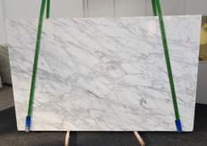 Suministro planchas pulidas 1.2 cm en mármol natural CALACATTA VAGLI VENA FINA GL 1128. Detalle imagen fotografías