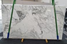 Suministro planchas pulidas 2 cm en mármol natural CALACATTA VAGLI 1300. Detalle imagen fotografías