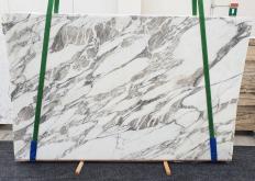 Suministro planchas pulidas 3 cm en mármol natural CALACATTA VAGLI 1396. Detalle imagen fotografías